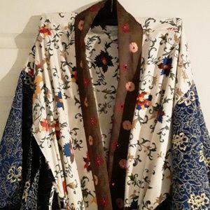 Gorgeous kimono robe